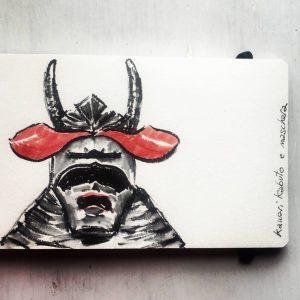 mudec samurai horns