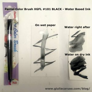 Pentel Color Brush XGFL